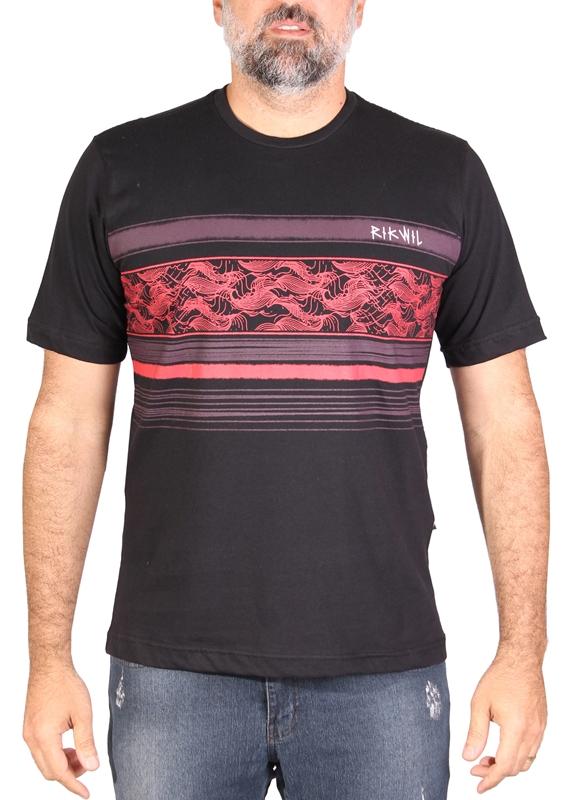 Camiseta Masculina Flames Rikwil