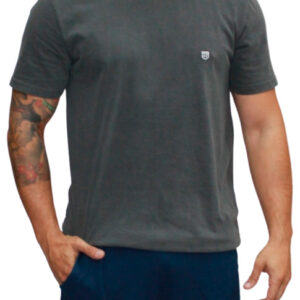 Camiseta Grey Basic - Rikwil